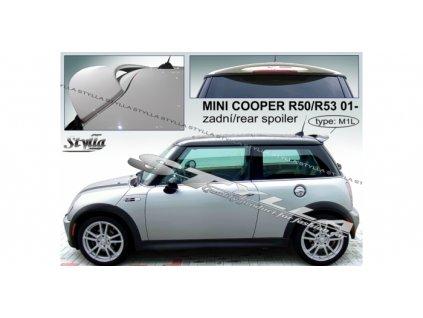 Střešní spoiler - stříška Mini Cooper 2001 - 2006