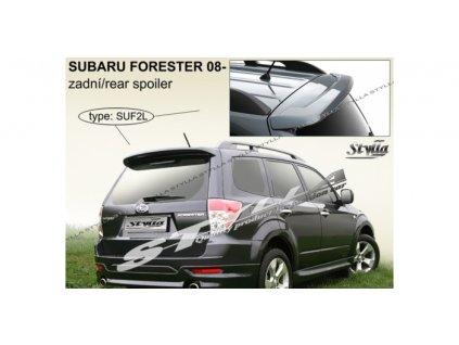 Střešní spoiler Subaru Forester, model 2008-2013