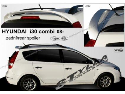 Střešní spoiler - stříška Hyundai i30 Combi 2008