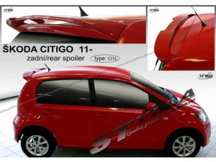 Střešní spoiler Škoda Citigo 2011