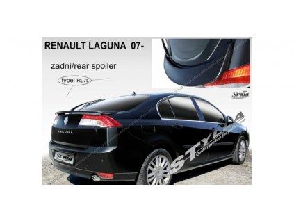 Zadní spoiler Renault Laguna III 2007 - 2015