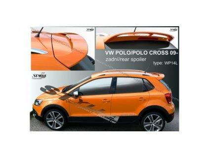 Zadní spoiler VW Polo Cross 2009-