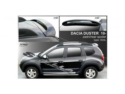 Střešní spoiler - stříška Dacia Duster 2010-