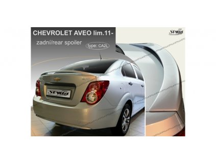 Zadní spoiler Chevrolet Aveo Limousine 2011