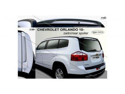 Střešní spoiler - stříška Stylla Chevrolet Orlando 2010-