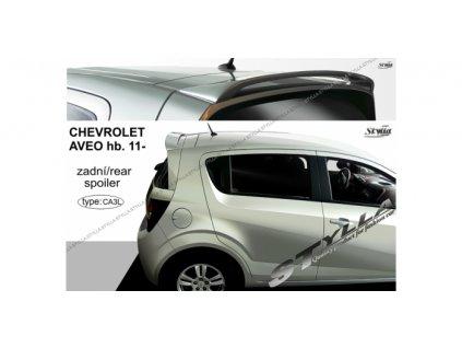 Střešní spoiler - stříška Chevrolet Aveo Hatchback 2011