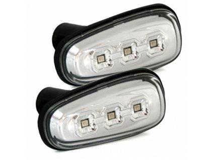 Boční blinkry LED Opel Zafira A, chromové