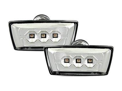 Boční blinkry LED Chevrolet Cruze J300, chromové