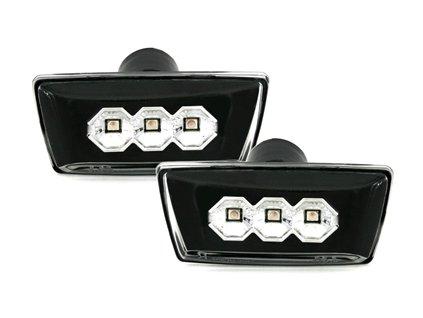 Boční blinkry LED Chevrolet Cruze J300, černé