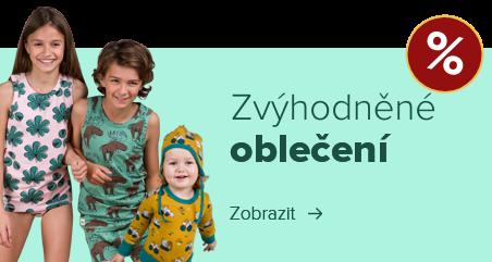 Dětské a kojenecké oblečení z biobavlny za zvýhodněné ceny