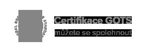 Spolehněte se na certifikaci GOTS