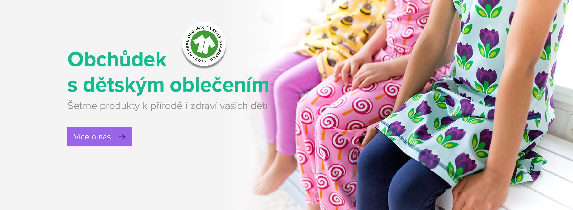 Obchůdek s dětským a kojeneckým oblečením