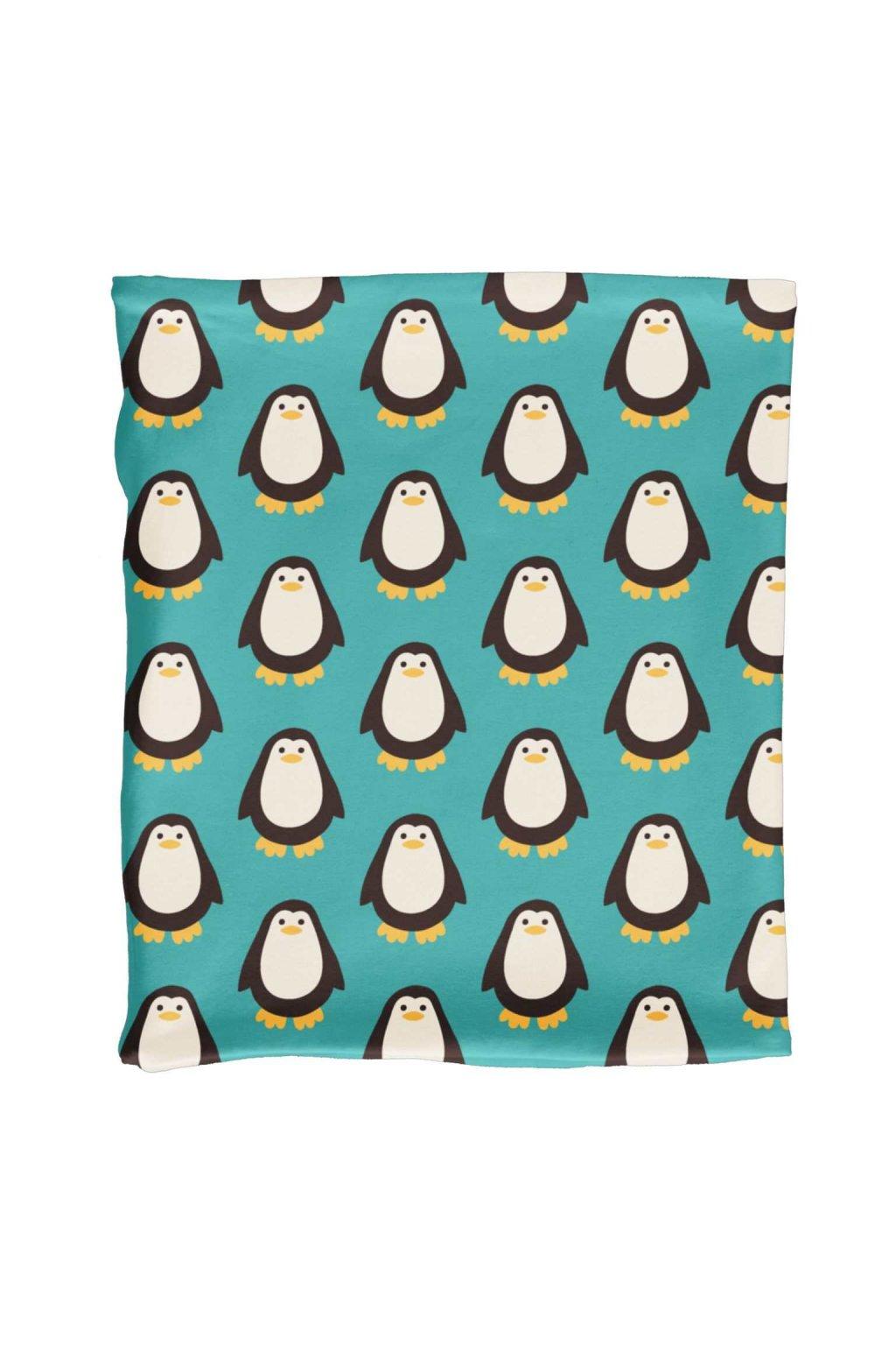 biobavlneny detsky nakrcnik zimni penguin maxomorra (1)