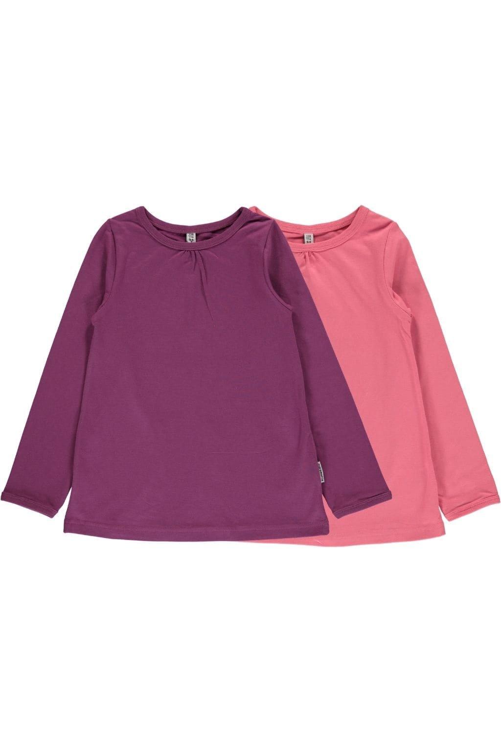 girl top ls rose pink + purple (1)
