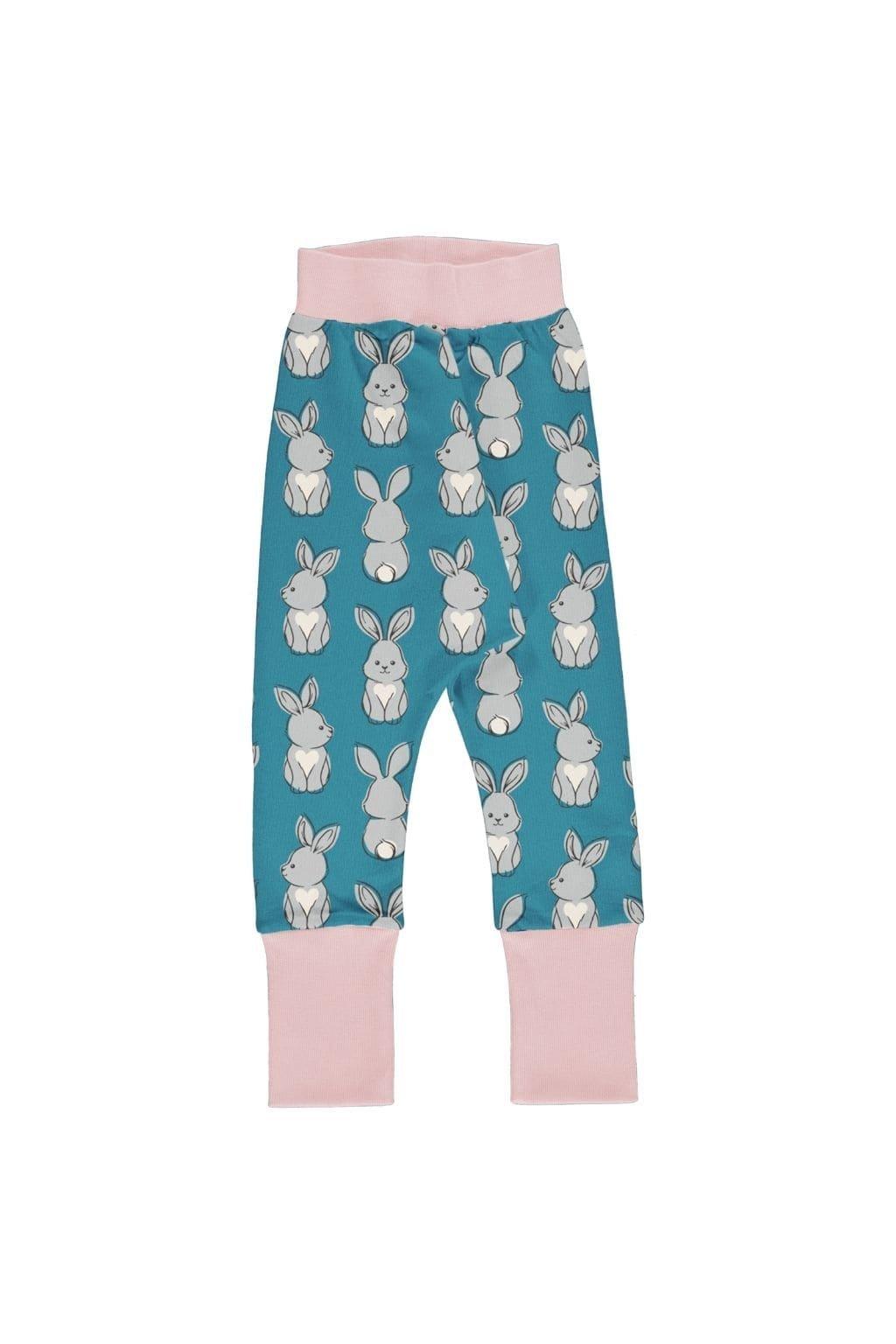 kojenecké kalhoty s manžetou rabbit (1)