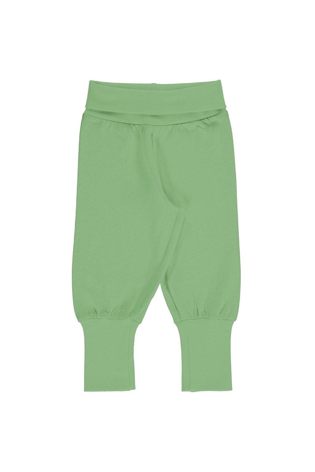 zelene biobavlnene kojenecke teplacky meyadey (2)