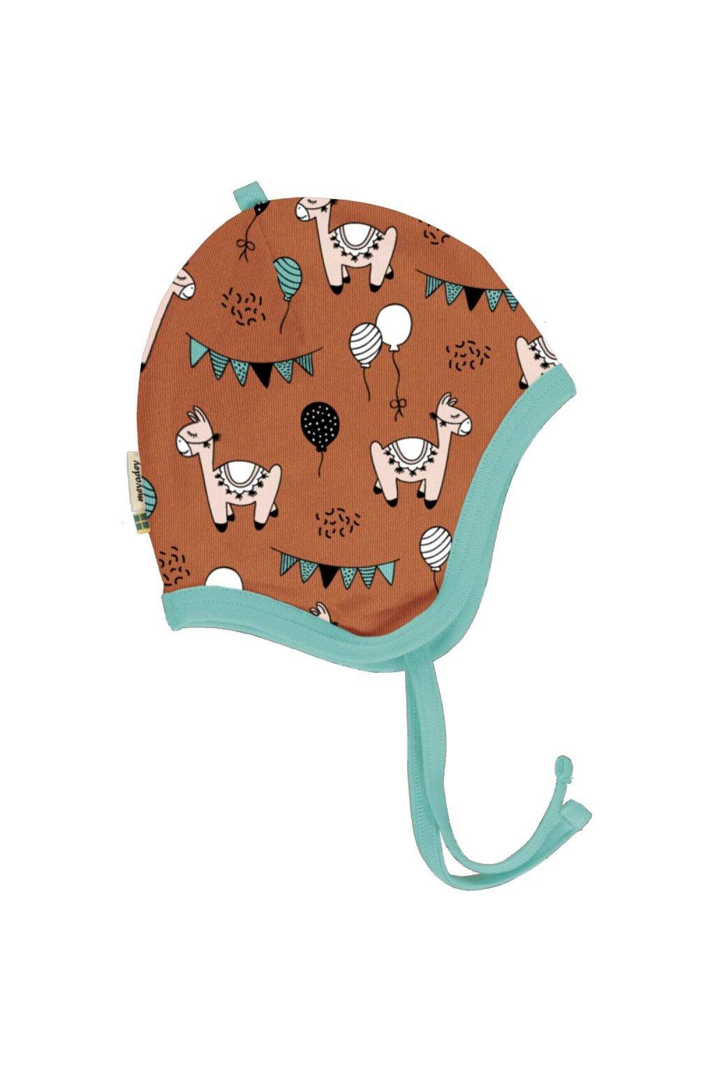 biobavlnena kojenecka cepice meyadey
