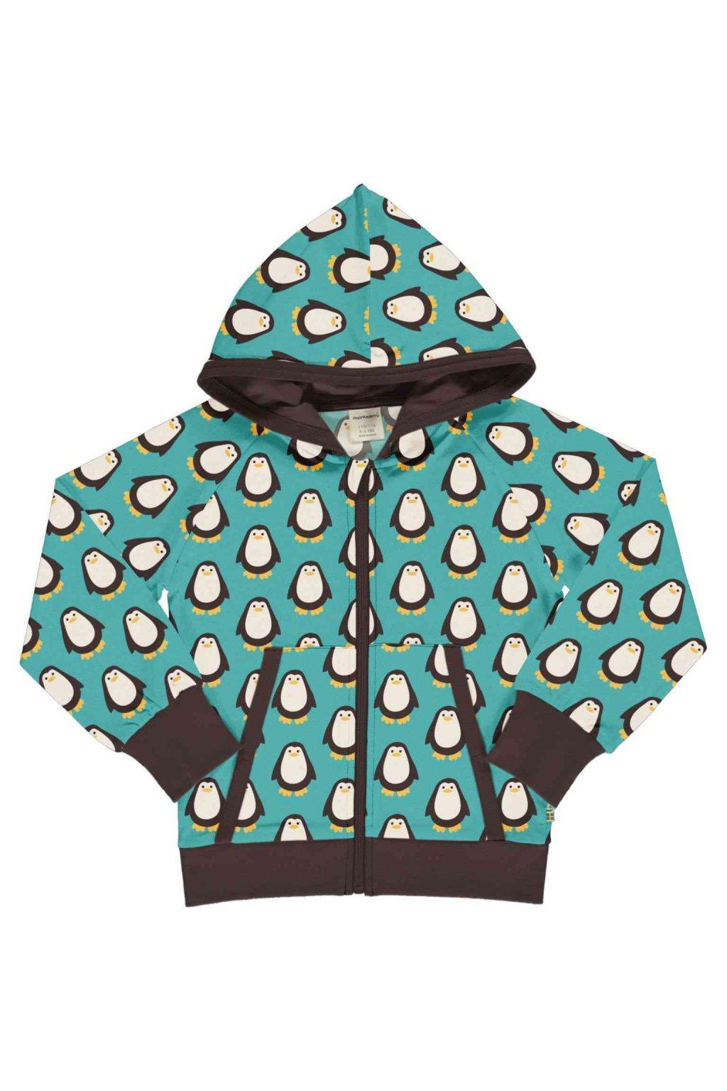 detska minika na zip s kapuci penguin maxomorra (1)