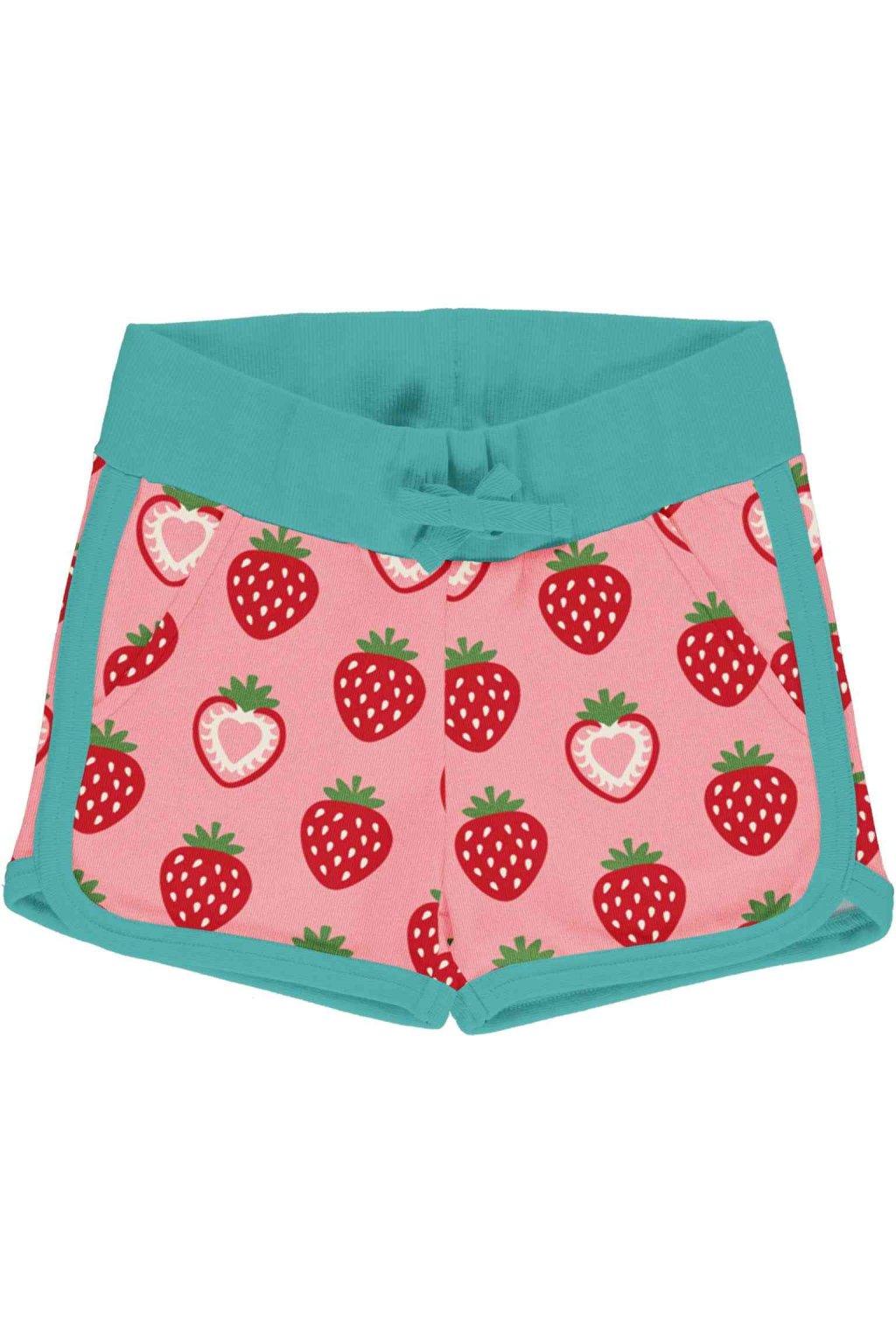 biobavlnene detske kratasy strawberry maxomorra (2)