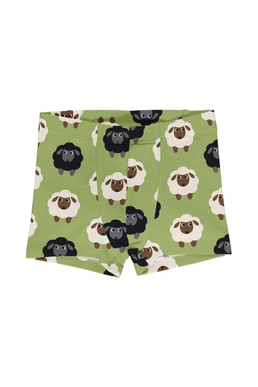 biobavlnene chlapecke boxerky sheep maxomorra