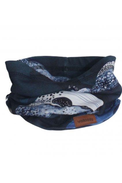 Nákrčník Blue Whales Walkiddy