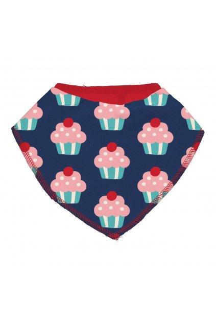 biobavlneny kojenecky nakrcnik cupcake maxomorra (2)