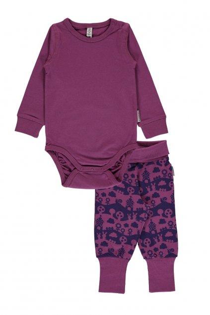 body ls purple + tepláčky purple landscape (1)