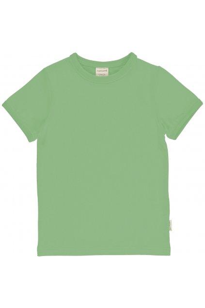 biobavlnene zelene detske tricko s kratkym rukavem meyadey (3)