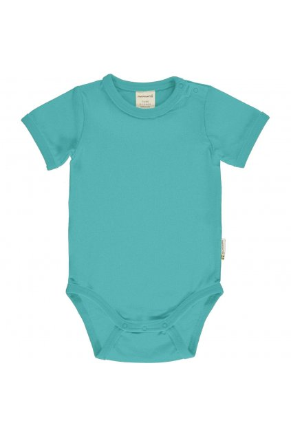 biobavlna kojenecke body AQUA maxomorra