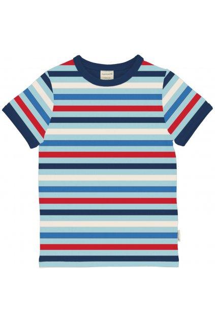 biobavlnene detske tricko s kratkym rukavem stripe ice maxomorra (1)