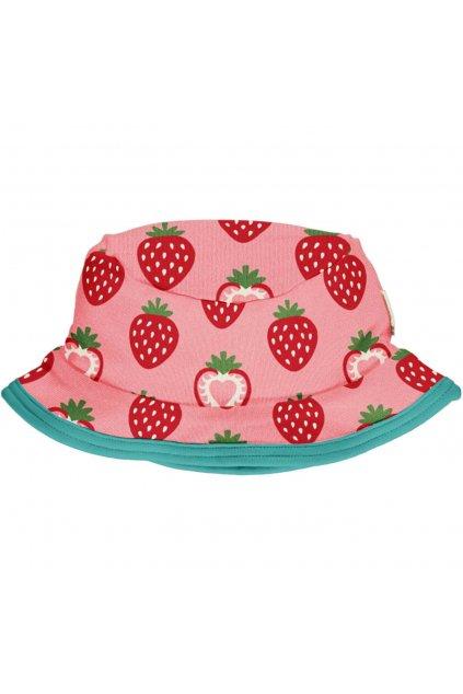 biobavlneny detsky letni kloboucek strawberry maxomorra (3)