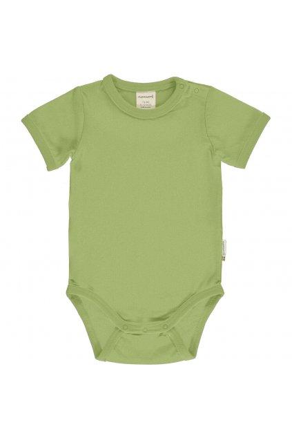 biobavlnene kojenecke body s kratkym rukavem pear maxomorra (1)
