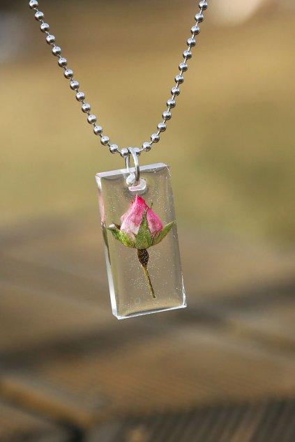 Náhrdelník KAAPO s Čajovou růží