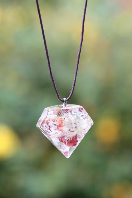 Krystal KAAPO s Růží a Chmýřím