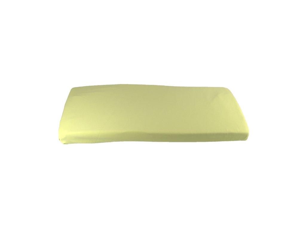 2130 zelena plachta do kolisky z biobavlny