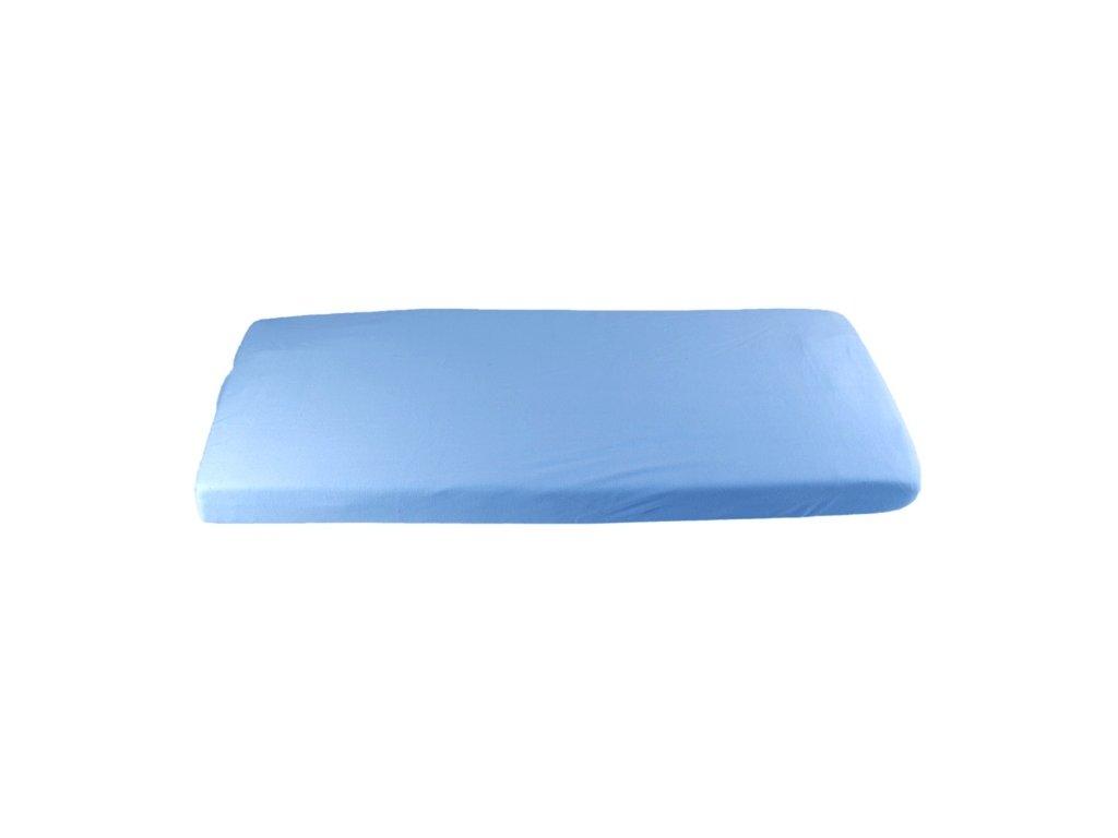 417 modre prestieradlo biobavlna 70 x 140 cm