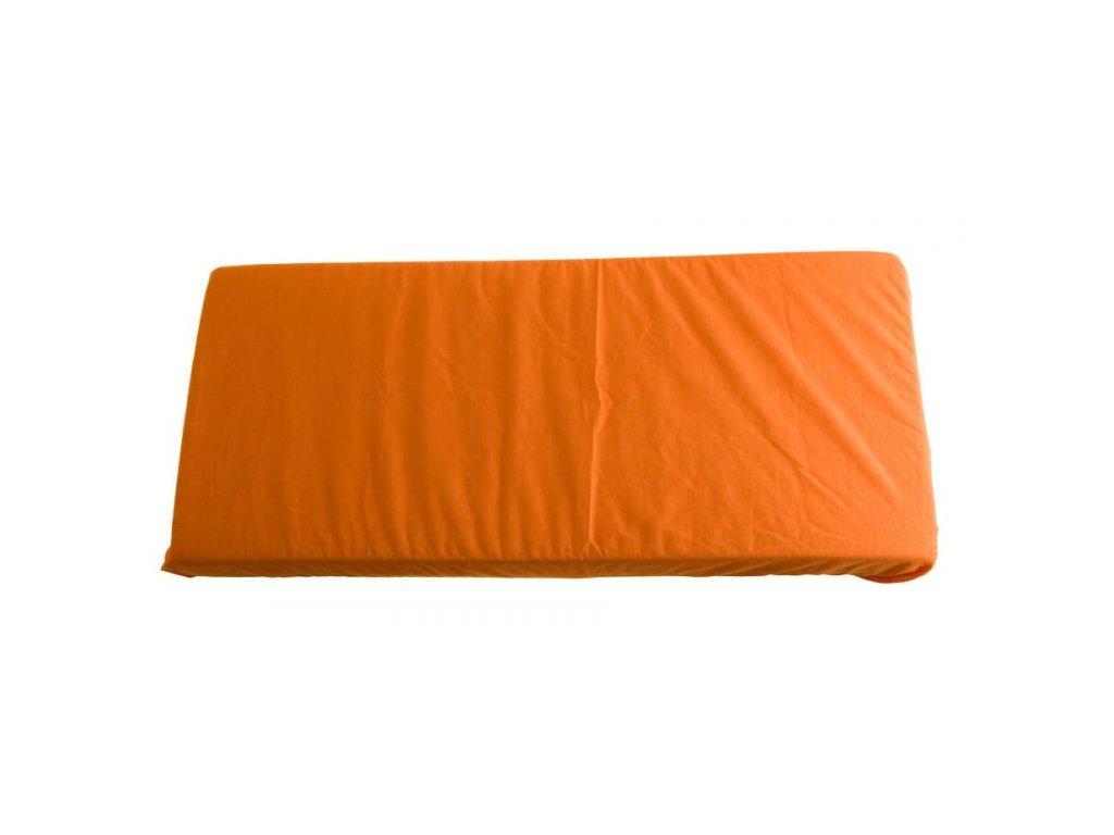 528 2v1 oranzova plachta 70x140cm a chranic matraca