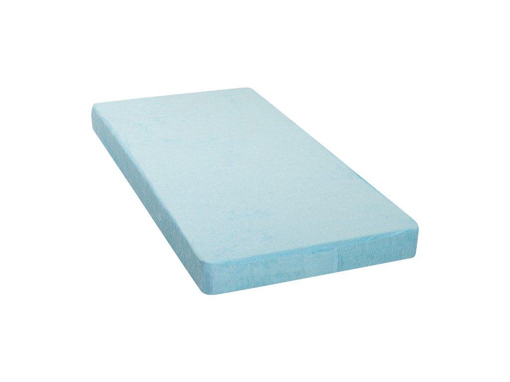 972 nepriepustna plachta 41 x 90 cm modre frote bavlna