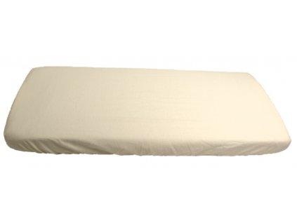 1065 biele prestieradlo bavlnene platno 70 x 160 cm