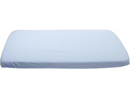 1068 modre prestieradlo bavlnene platno 70 x 160 cm