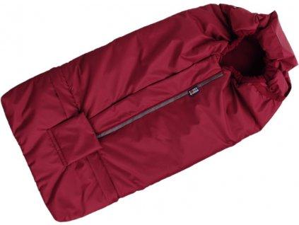 2478 fusak bordovy s fleece podsivkou