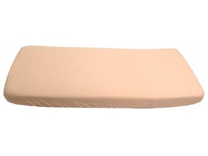 567 flanelova plachta marhulova 70 x 140 cm