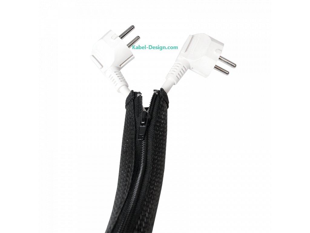organizace kabelů elastický pás na zip IV