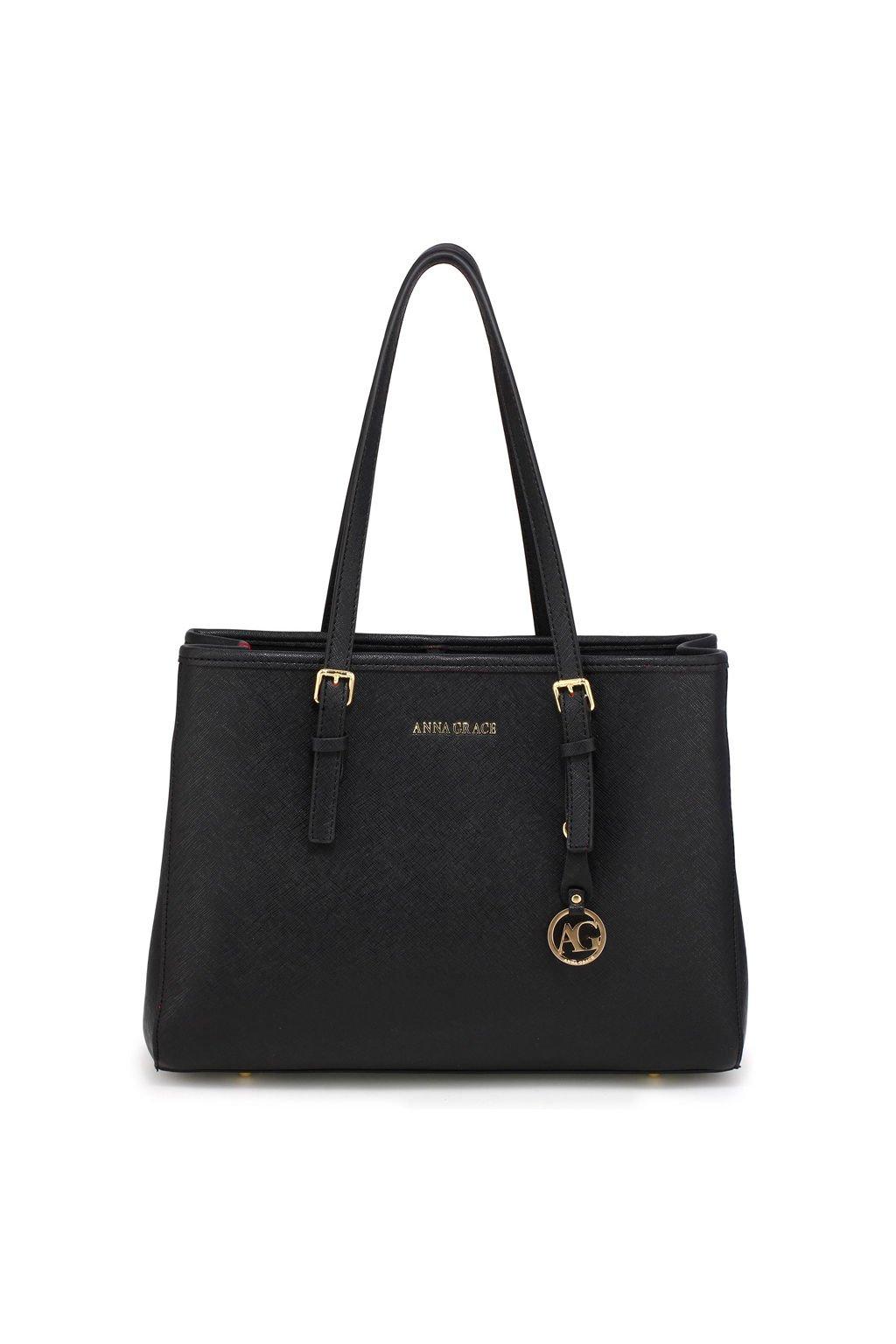 Černá kabelka Anna Grace přes rameno