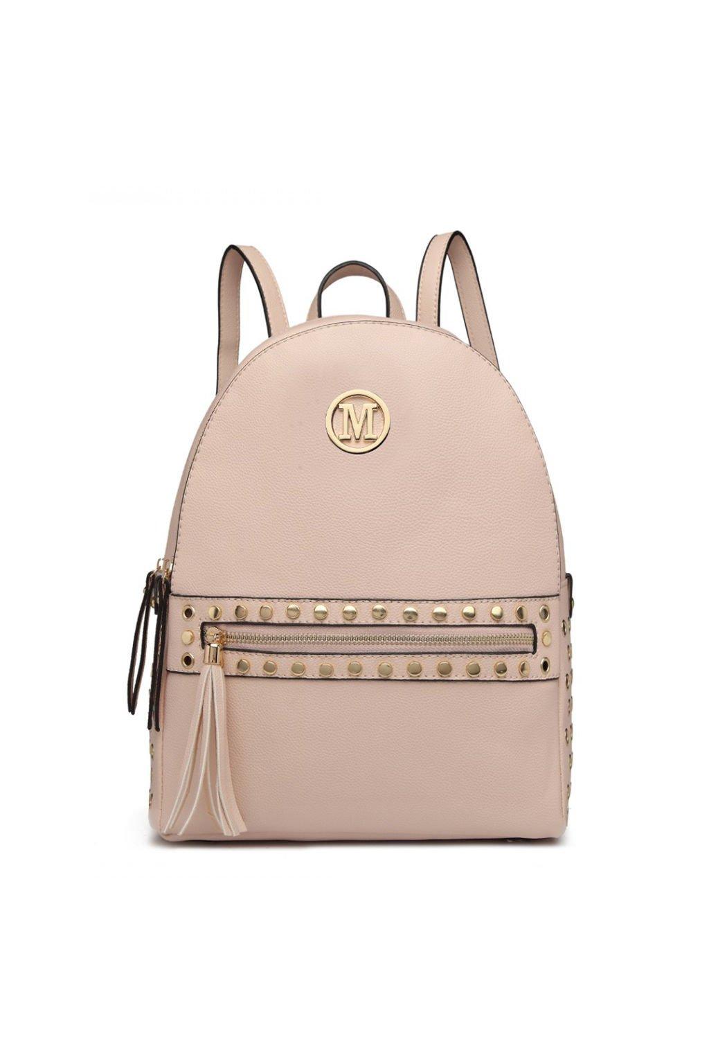 Tělový batoh Miss Lulu se zlatými doplňky