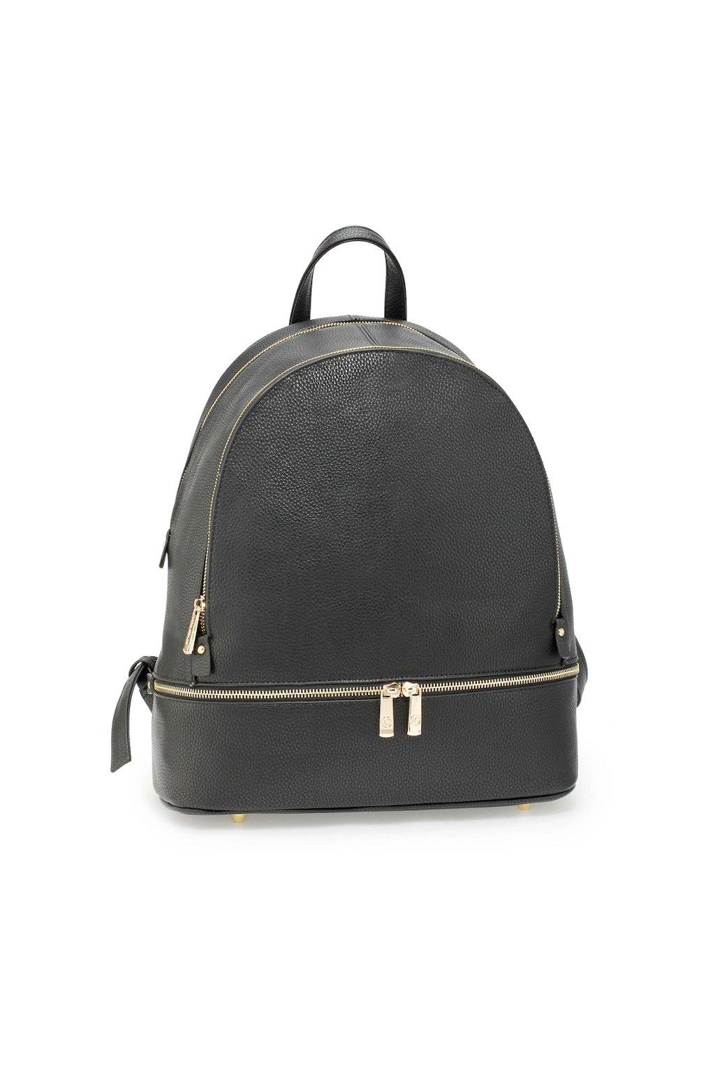 Elegantní černý batoh Anna Grace