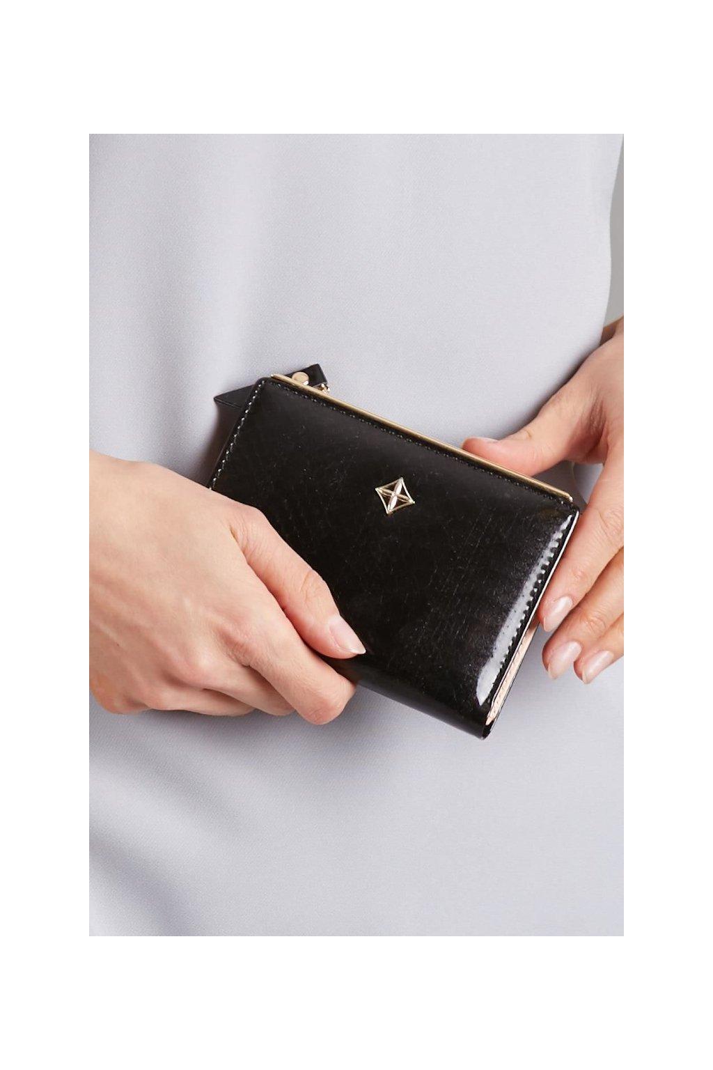 Menší černá peněženka Milano Design