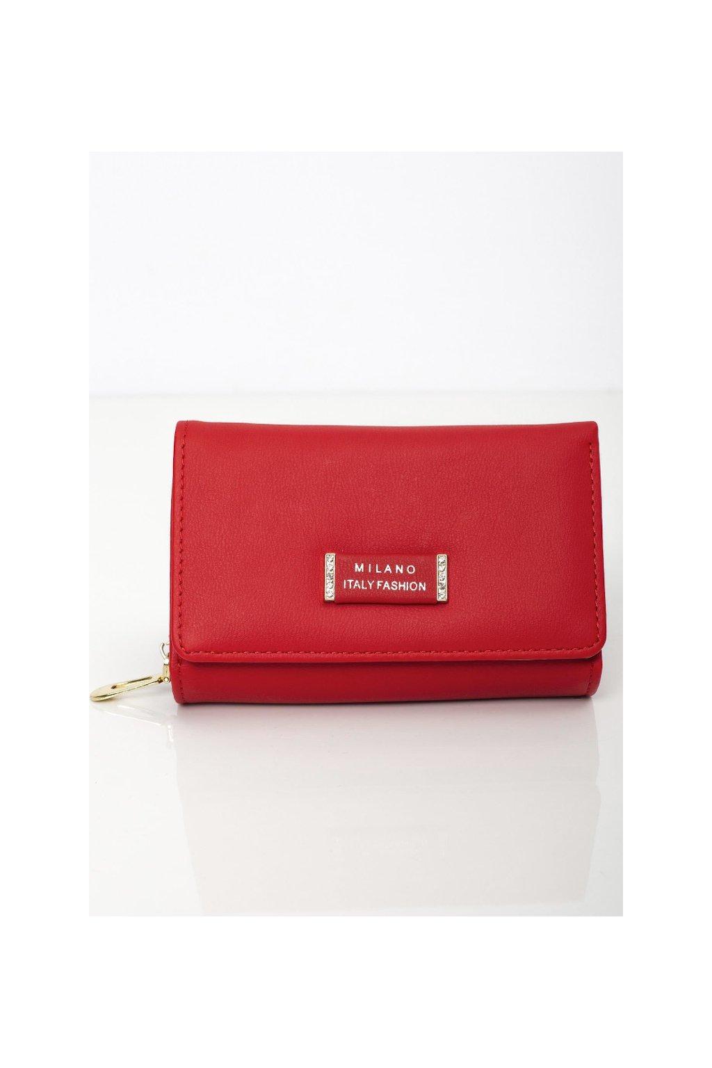 Menší červená peněženka Milano Design