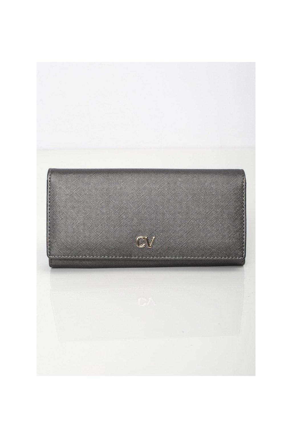 Elegantní šedá peněženka Cavaldi