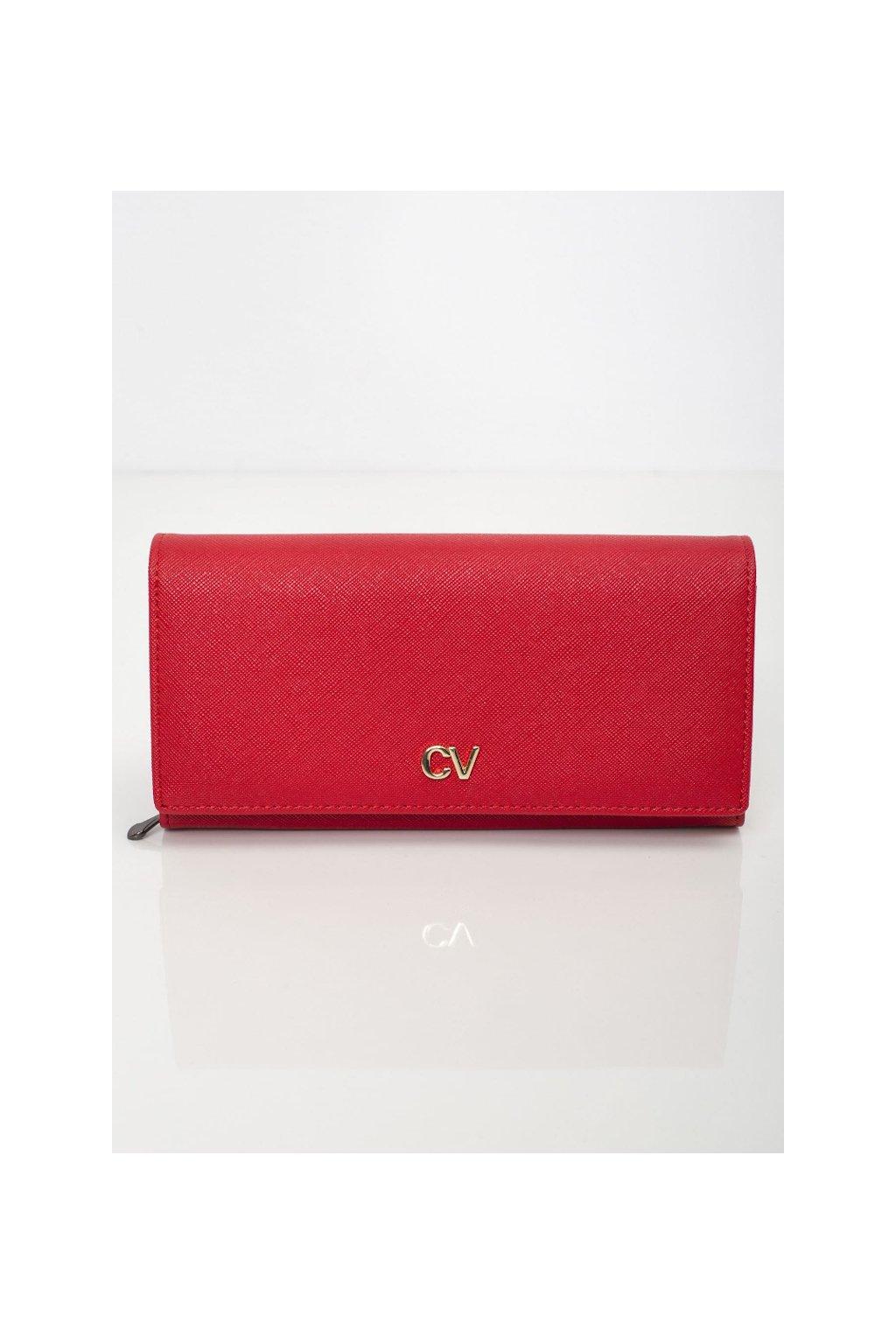Elegantní červená peněženka Cavaldi